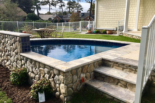 Pool Coaping