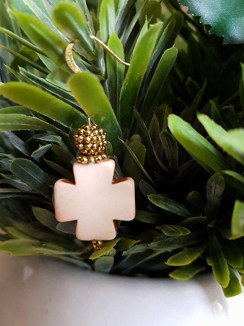 White Big Cross