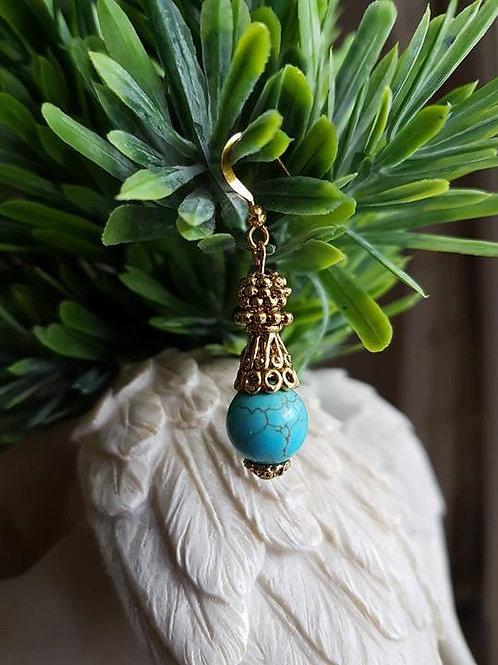 Turquoise Gold Boho
