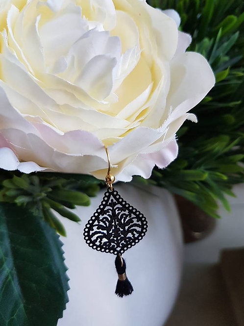 Black Drop Tassel