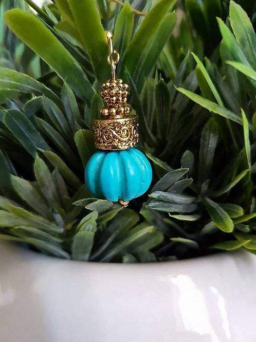 Turquoise  Round Boho