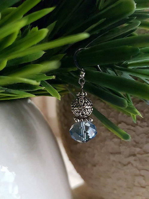 Crystal Blue Silver