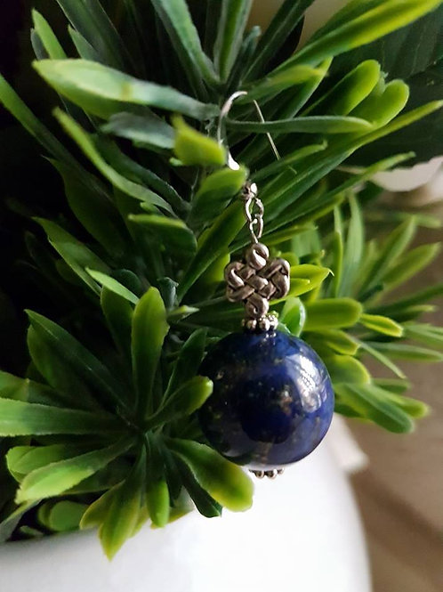 Lapis Lazuli Mystic Knot