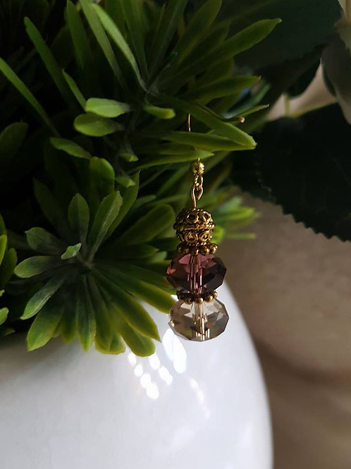 Purple Gold Crystal