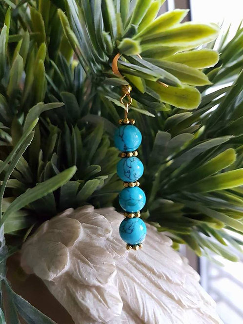 Turquoise four long