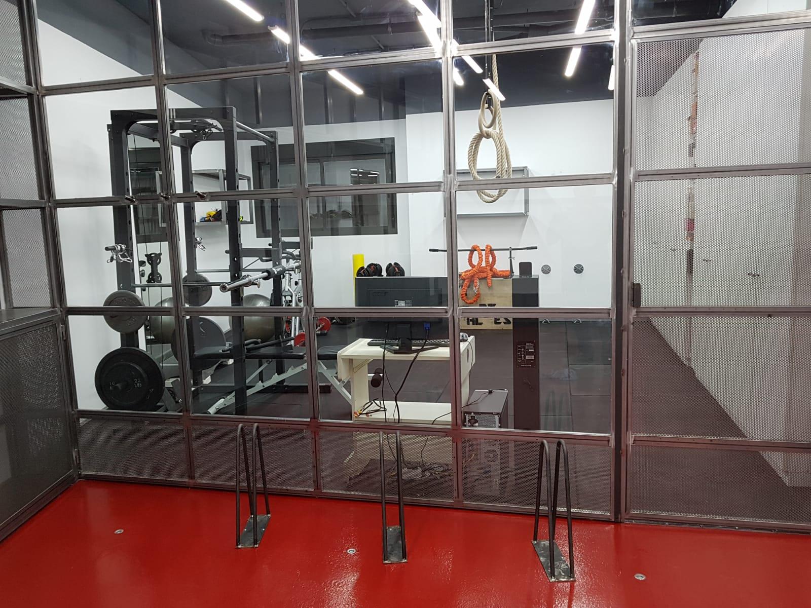 Reforma garage y gimnasio