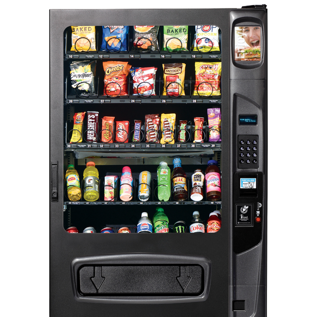 Mid-Size Snacks, Bars, and Drink Machine