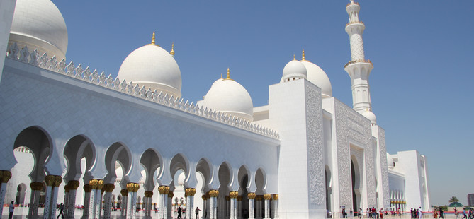 Project-Sheikh Zayed Grand Mosque in Abu Dhab