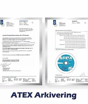 迪晟 認證_ATEX Arkivering .webp