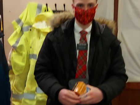 Many thanks to Elder Beard, for a lovely donation to Street Friends, following naloxone training.