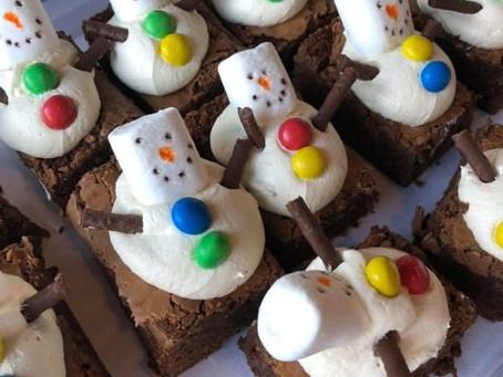 Caramel Cakeway's Karen, local baker donation for Street Friends, lovely, yummy, boxed, good to go!!