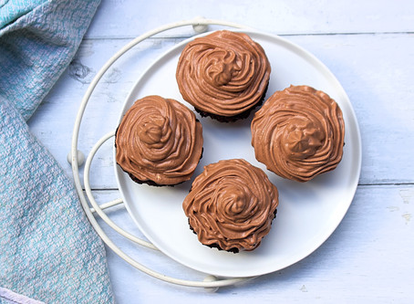 Healthy Chocolate cupcakes !!