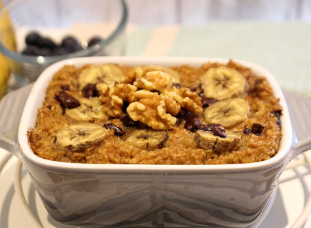 Protein Baked Oat Cake