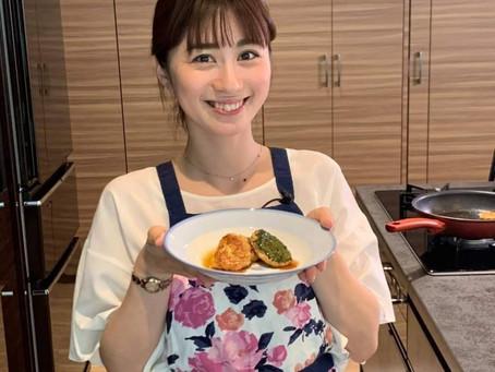 お料理動画『つばめTV』に出演