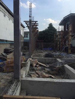 หน้างานก่อสร้าง