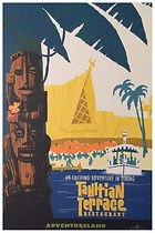 Tahitian Terrace Attraction Poster