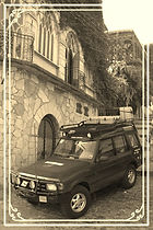 Land Rover in Xilitla, Expedition Americas