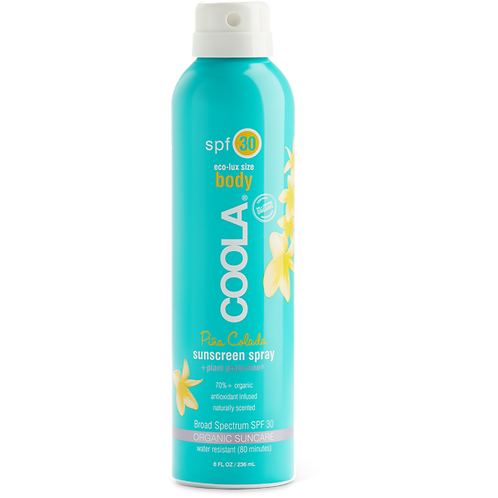 Coola SPF30 Spray - Pina Colada