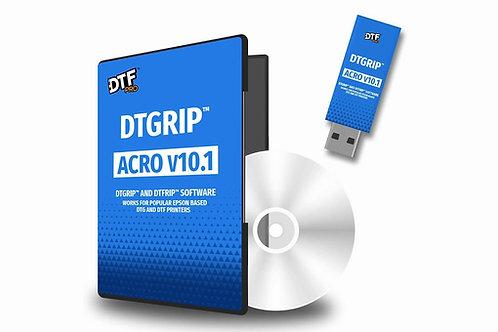 AcroRip Version 10.1  PRO DTF Printing