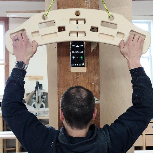 ROCK-STAH Wood Hangboard (Stuck Training At Home )