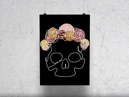 Death Crown Print