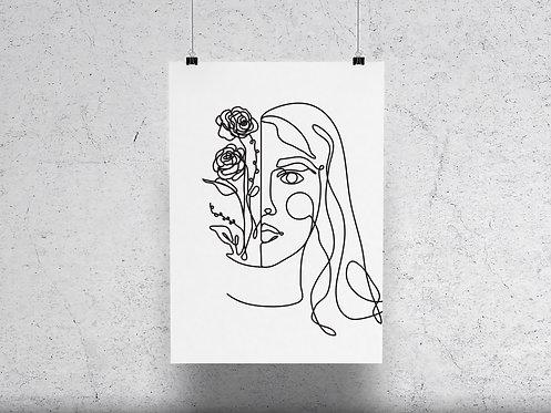 My Flower, My Power Print