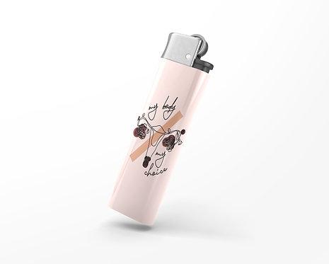 My Body My Choice Lighter