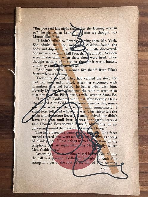 Vintage Book Page
