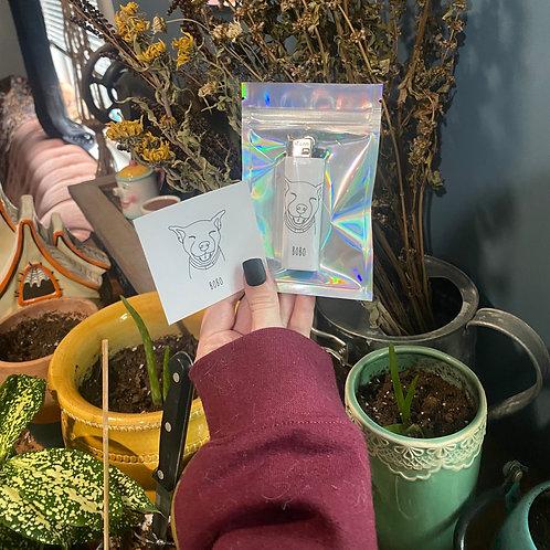 Pet Lighter + Sticker