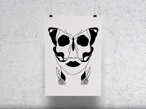 Deadly Flutter Print