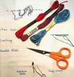 Ginn's Hand Embroidery Kit