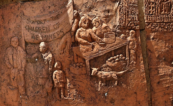 Memorial Clay Sculpture by Rebecca Buck