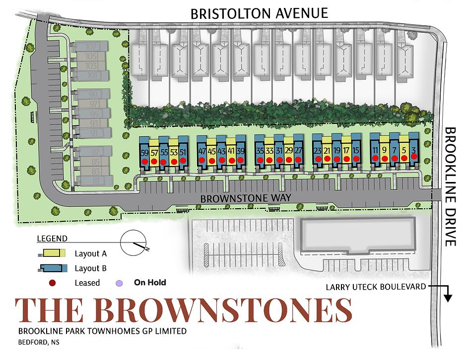 Brownstones - Site Plan - August 14st 20