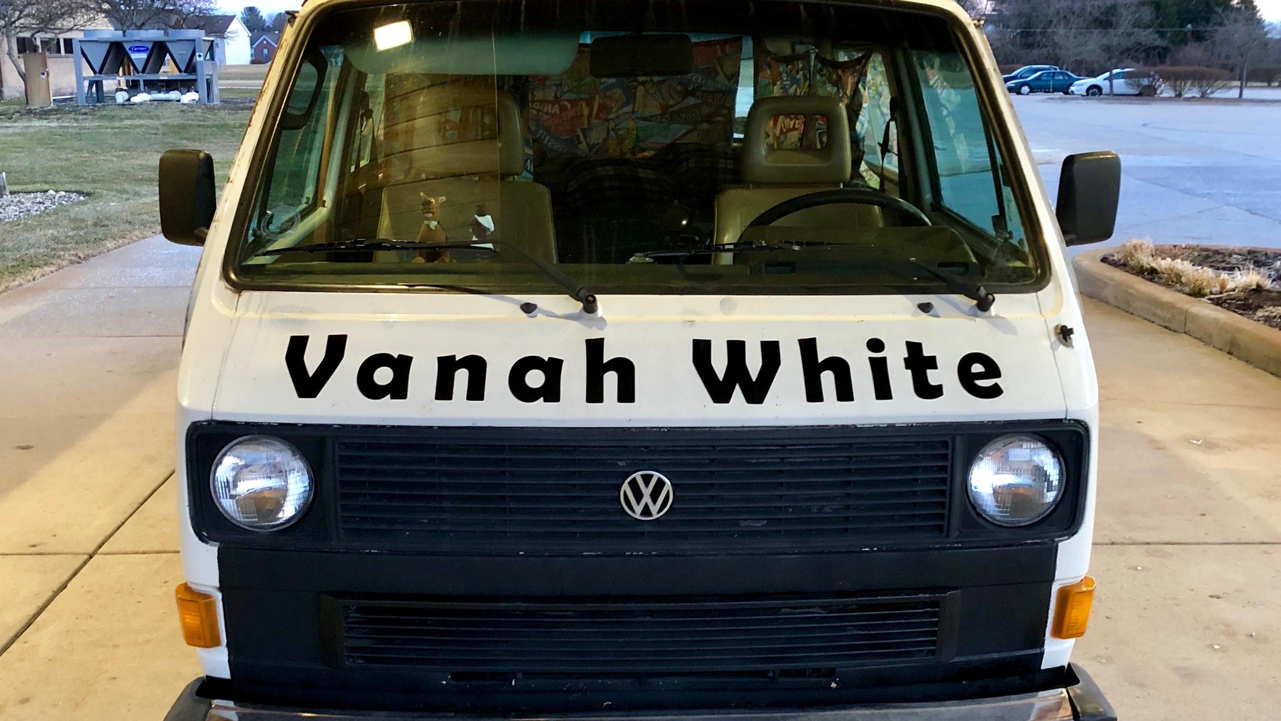 Vanah White - Front