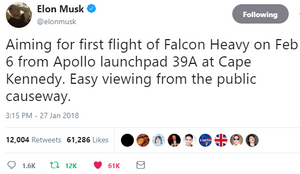 Falcon Heavy Announcement