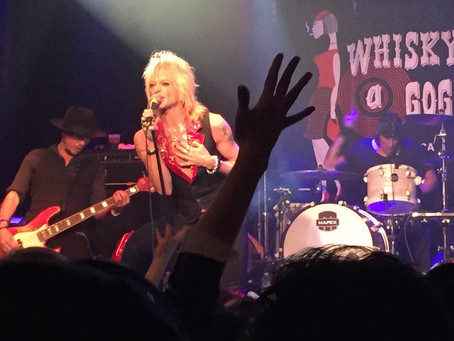 Michael Monroe @ The Whiskey A-Go-Go