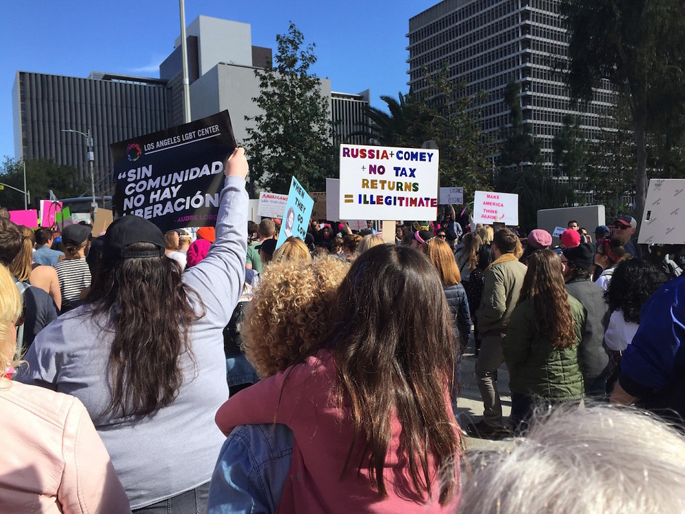 Womens march LA 10