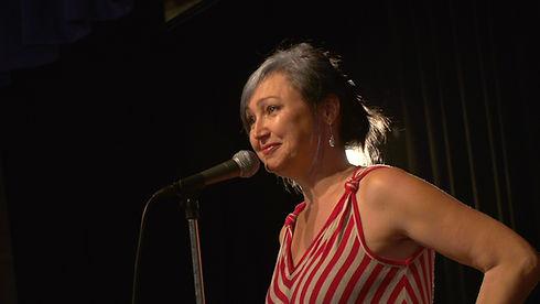 Paula at the mic.jpg