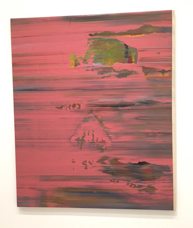 Jack Whitten - Pink Psyche Queen