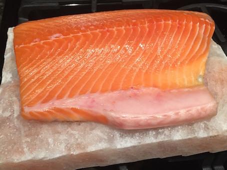 Salt Plank Salmon