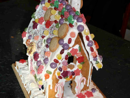 How To Make A Gingerbread House!