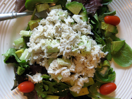Lump Crab Avocado Salad