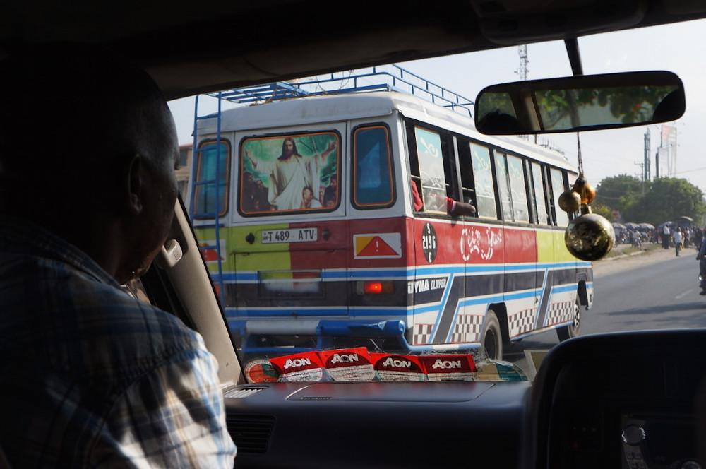 Zanzibar Jesus bus