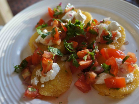 Polenta & Salsa Rounds