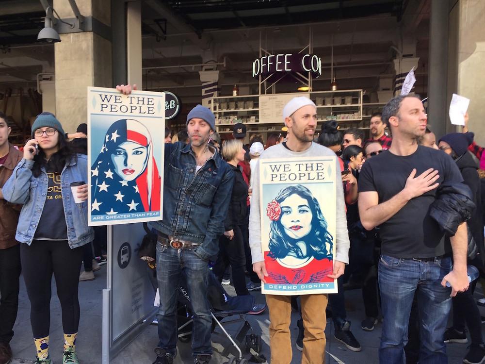 Womens march LA 6