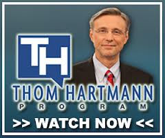 """""""We're The 99"""" Played On The Thom Hartmann Show!"""