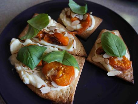 Apricot Basil Tarts