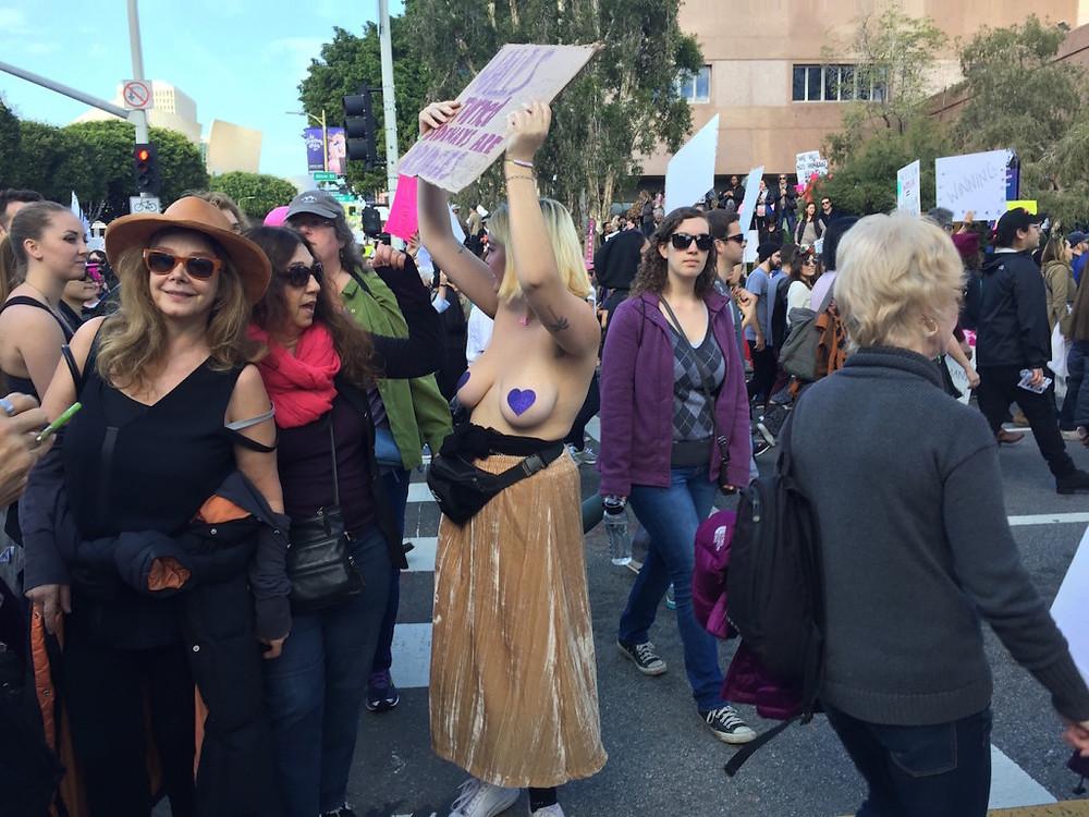 Womens march LA 9