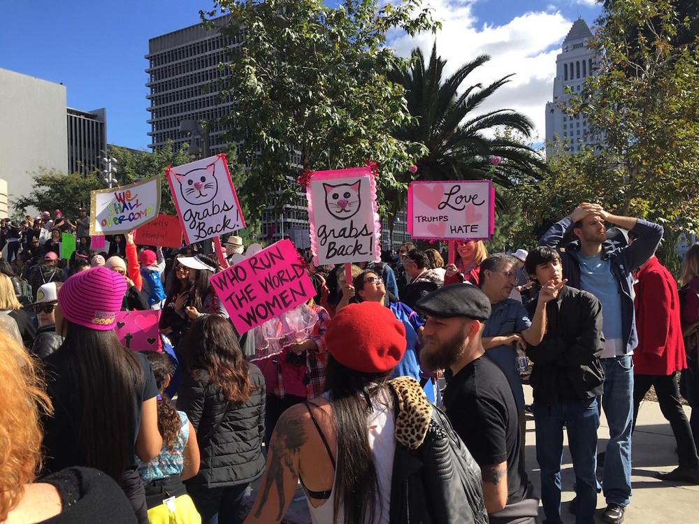Womens march LA 18