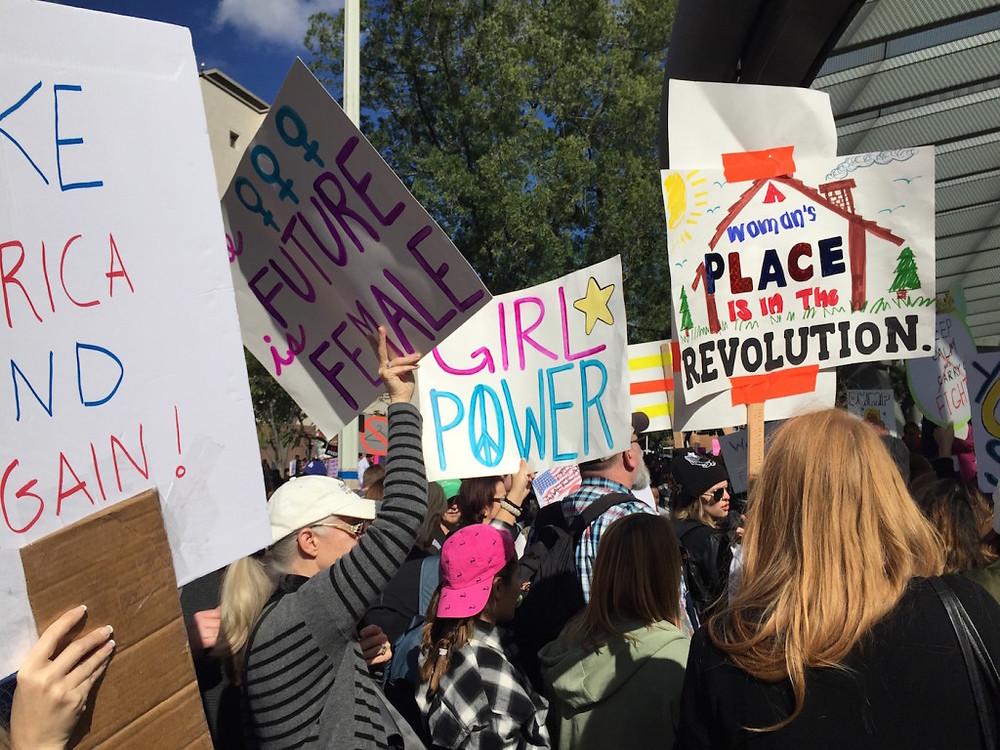 Womens march LA 20